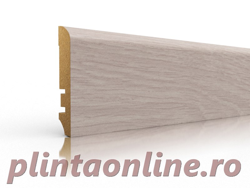 Plinta Inalta Stejar Alb VKM 68.11