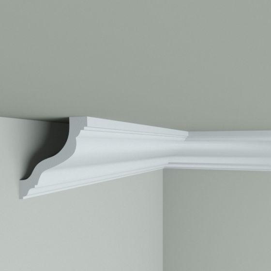 Cornisa decorativa din polimer rigid C10