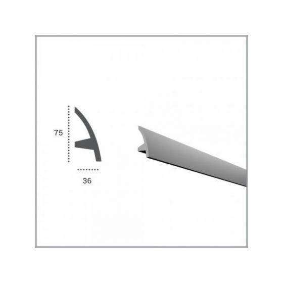 Profil pentru banda LED din poliuretan KF502