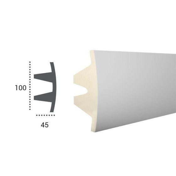 Profil pentru banda LED din poliuretan flexibil KF503F