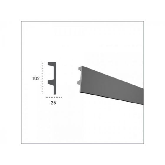 Profil pentru banda LED din poliuretan flexibil KF504